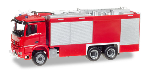 013055 - Herpa Model Fire Service Mercedes Benz Arocs