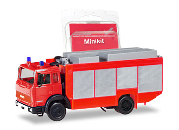 013512 - Herpa Model Fire Service Iveco Magirus Rescue Vehicle Minikit