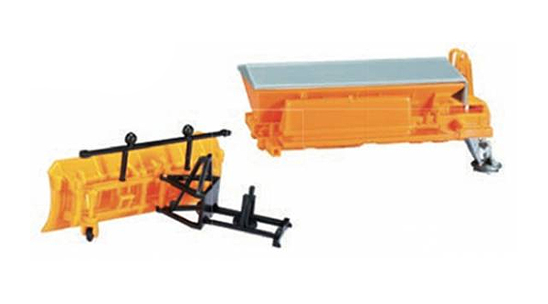 053396 - Herpa Model Snow Plow And Sander Box Accessory