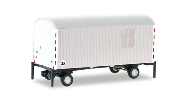 076395 - Herpa Model Construction Site Trailer All or