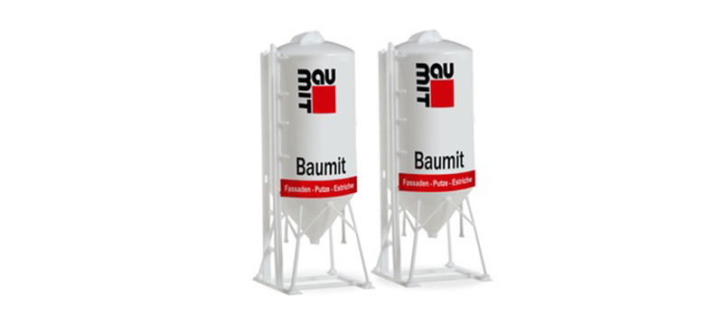 076883 - Herpa Model Baumit Set of Two 225 Cubic Meter