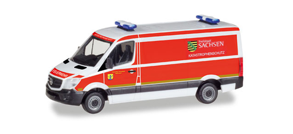 093354 - Herpa Model Mercedes Sprinter Ambulance High Quality
