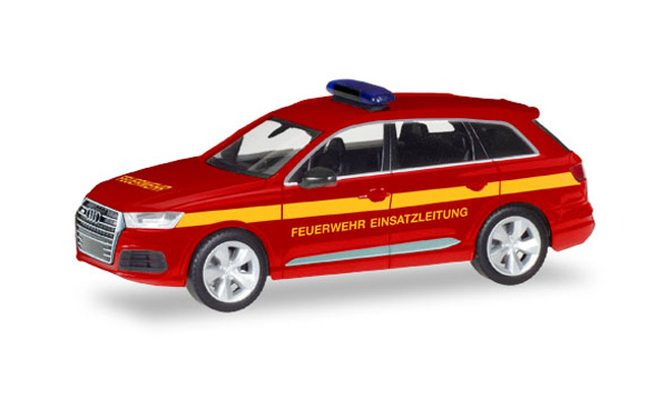 093965 - Herpa Model Fire Service Audi Q7 Command Vehicle high