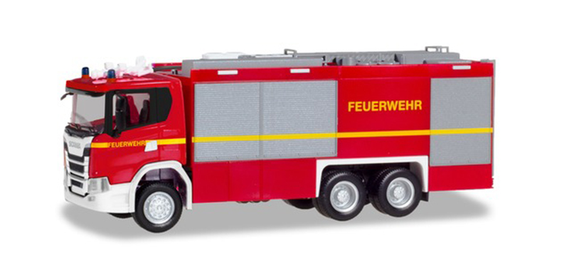 094375 - Herpa Model Scania CG 17 Fire Truck
