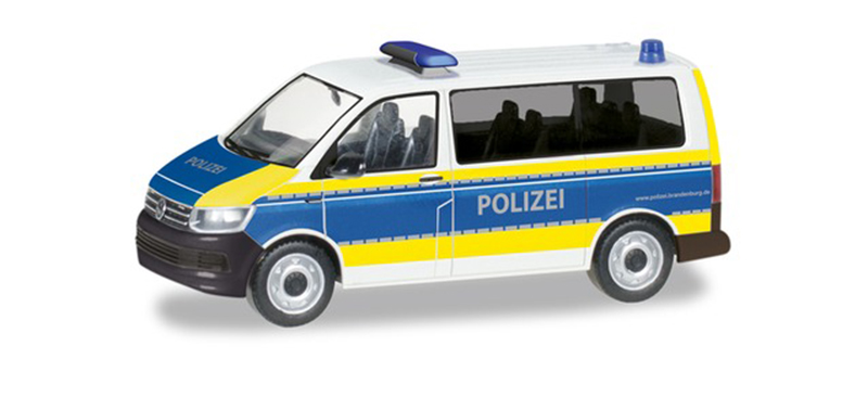 094672 - Herpa Model Police Volkswagen T6 Bus high quality