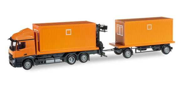 304313 - Herpa Model Mercedes Benz Streamspace Truck