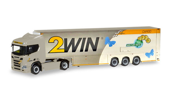307970 - Herpa Model Emons Group _ 2Win Scania CR 20