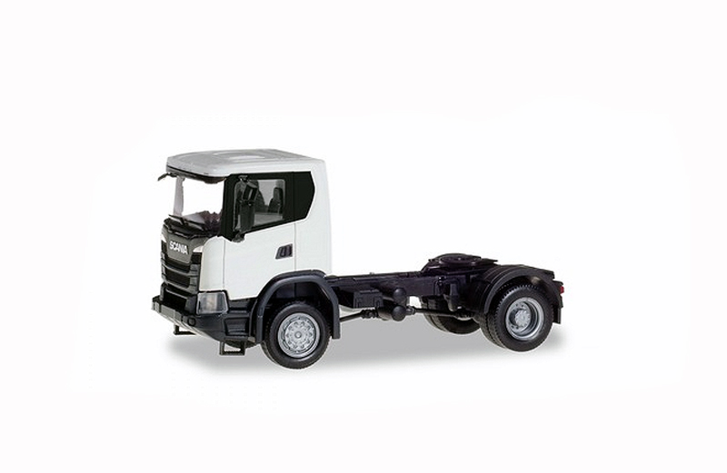 309769 - Herpa Model Scania CG 17 Tractor 2 Axle White