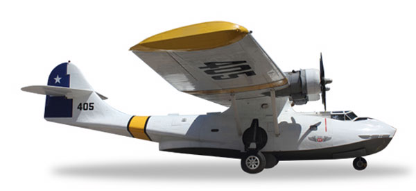 557009 - Herpa Model Consolidated Vultee Pby 5a Catalina Chilean Air