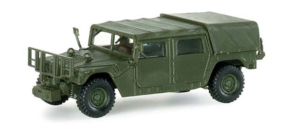 742115 - Herpa Model HMMWV Humvee Miilitary Light Truck high quality