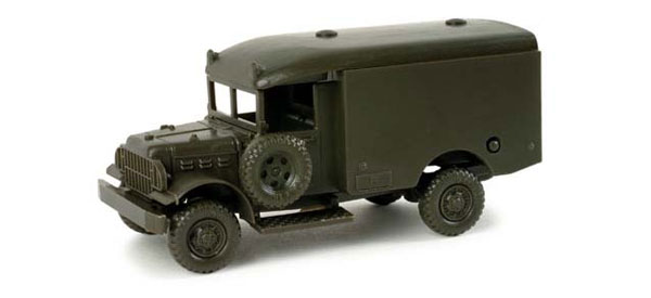 743365 - Herpa Model US Army Dodge 223 Military Ambulance All