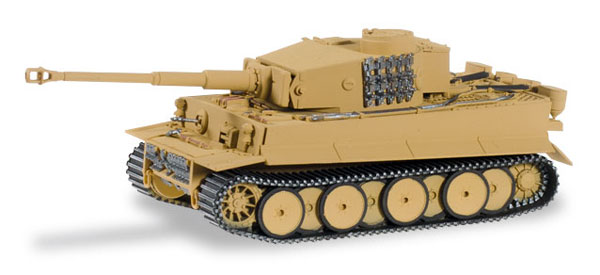 745512 - Herpa Model Tiger Tank Late Version Sand Beige