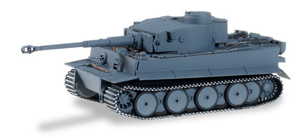 745529 - Herpa Model Tiger Tank Late Version Armed Forces Grey