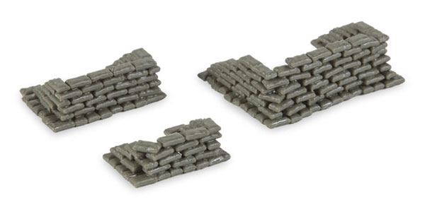 745833 - Herpa Model Sandbags 200 pieces Great Diorama Accessories All