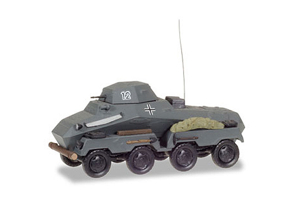 745918 - Herpa Model SdKfz 231 Heavy Armoured Reconnaissance Vehicle German