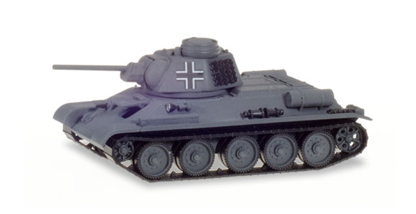 746045 - Herpa Model T 34_76 Main Battle Tank German Commandant