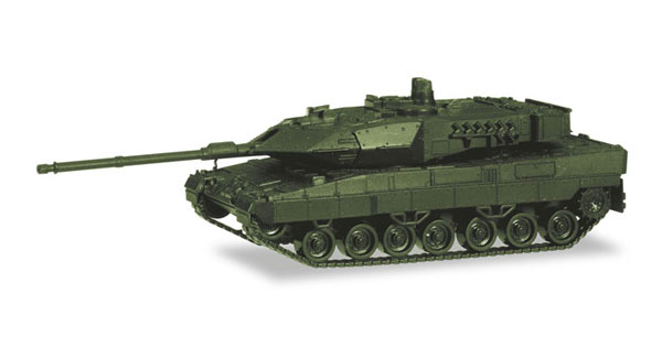 746182 - Herpa Model Leopard 2A7 Main Battle Tank undecorated high