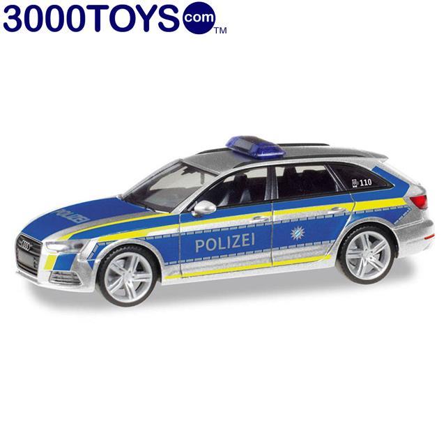 Herpa Voiture AUDI 60 ® Variant police Ingolstadt