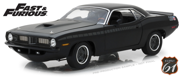 18005 - Highway 61 Custom Plymouth Barracuda Furious 7 2015