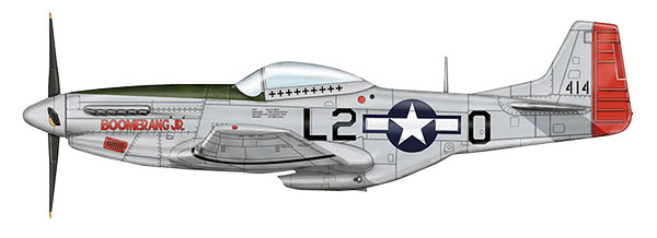HA7723B - Hobby Master P 51D Mustang Fighter Boomerang Jr