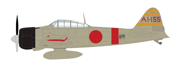 HA8801 - Hobby Master A6M2b Zero Fighter Type 21 LCDR Shigeru