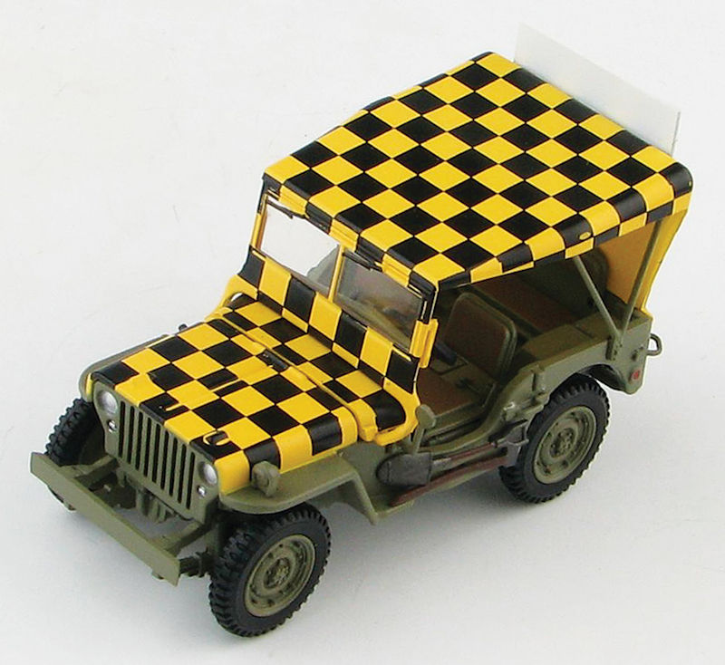 HG1612 - Hobby Master Willys MB Jeep US Army Air Force