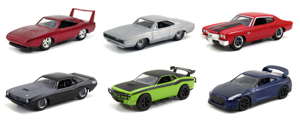 14026-W2H-SET - Jada Toys Fast and Furious Build n Collect Wave