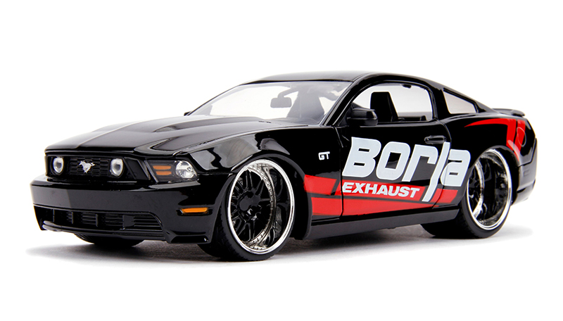 31322 - Jada Toys Borla Exhaust 2010 Ford Mustang GT