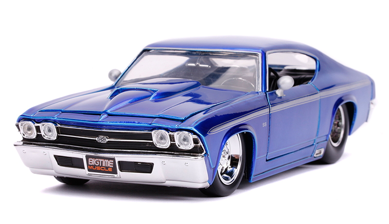 31455 - Jada Toys 1969 Chevrolet Chevelle SS BigTime Muscle