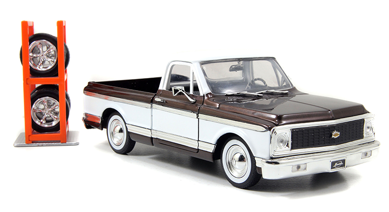 96817 - Jada Toys 1972 Chevrolet Cheyenne Pickup Just Trucks