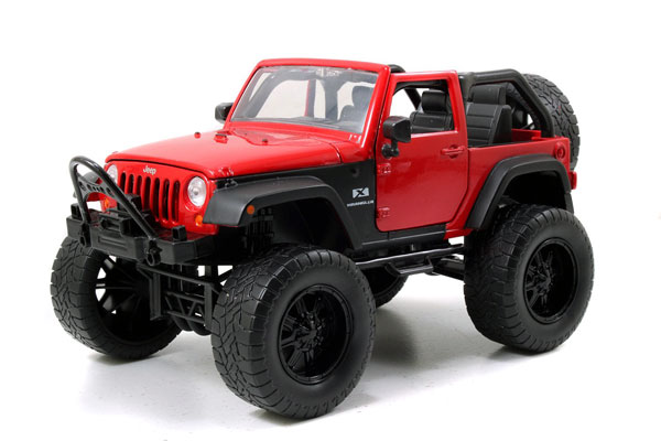 97446R - Jada Toys 2007 Jeep Wrangler Off Road Edition