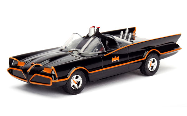 98225 - Jada Toys Classic Batmobile Batman TV Series 1966 68