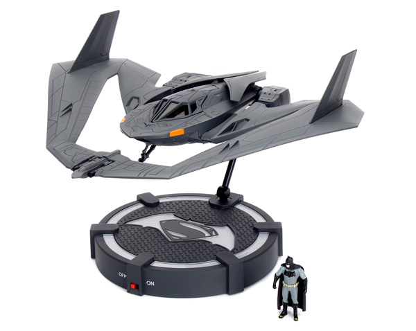 98325 - Jada Toys Batwing with Batman Figure and Display Stand