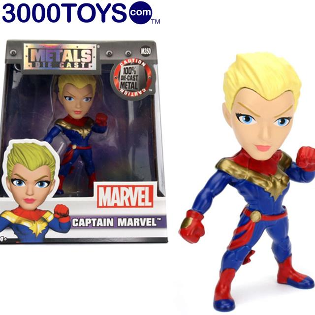 Marvel Captain Marvel Jada Toys Metals Die Cast Figure
