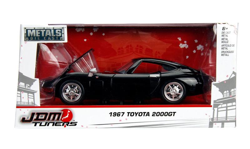 Jada Toys 30447r toyota 2000gt 1967 en rojo 1:24 nuevo embalaje original