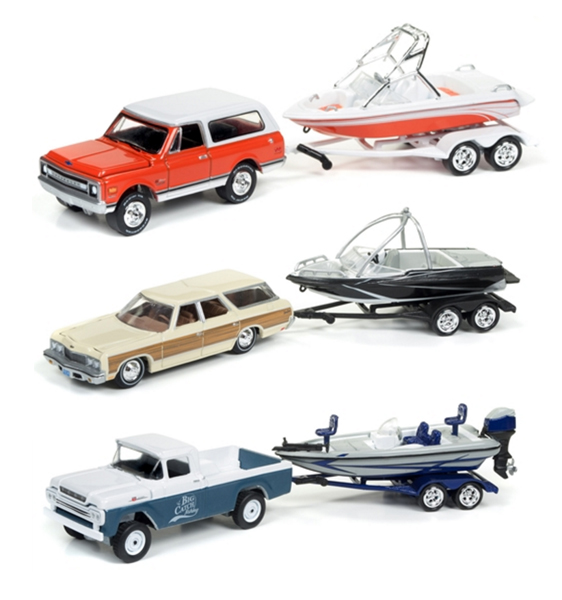 JLBT002-A-SET - Johnny Lightning Gone Fishing Release 2A