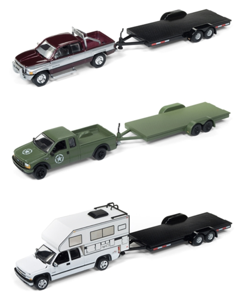JLBT006-A-CASE - Johnny Lightning Truck Trailer Release 1A
