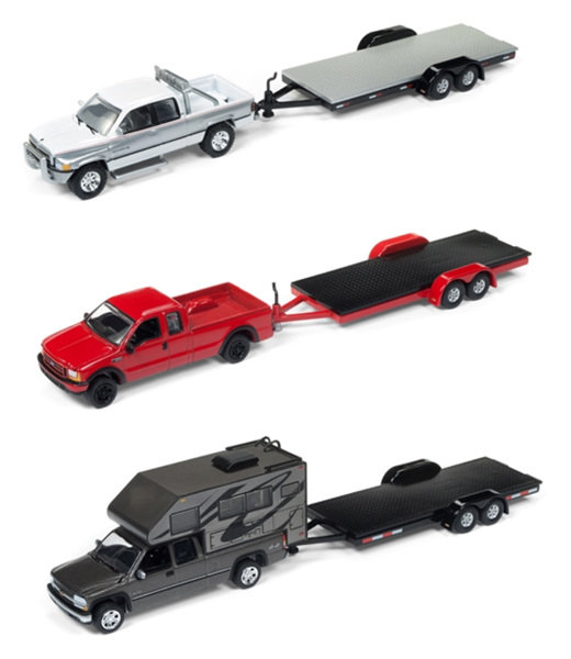 JLBT006-B-CASE - Johnny Lightning Truck Trailer Release 1B