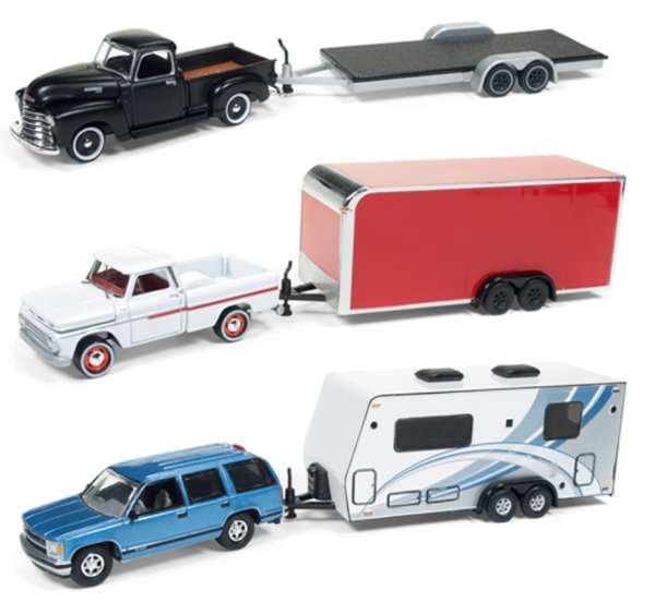 JLBT007-B-CASE - Johnny Lightning Truck Trailer 2018 Release