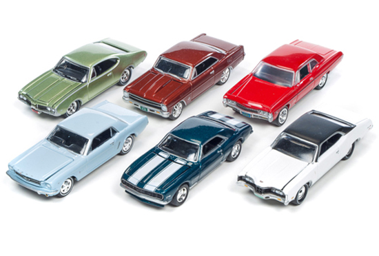 JLMC002-C-SET - Johnny Lightning Muscle Cars Release 2 C
