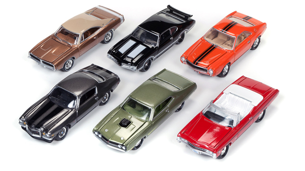 JLMC003-A-CASE - Johnny Lightning Muscle Cars Release 3 A