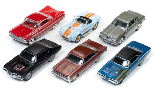 JLMC012-A-CASE - Johnny Lightning Muscle Cars 2017 Release 5A