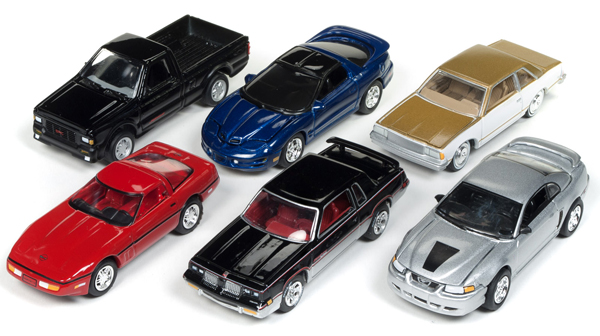 JLMC014-A-CASE - Johnny Lightning Muscle Cars 2018 Release 1A