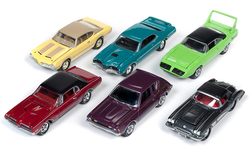 JLMC021-A-CASE - Johnny Lightning Muscle Cars 2019 Release 3A