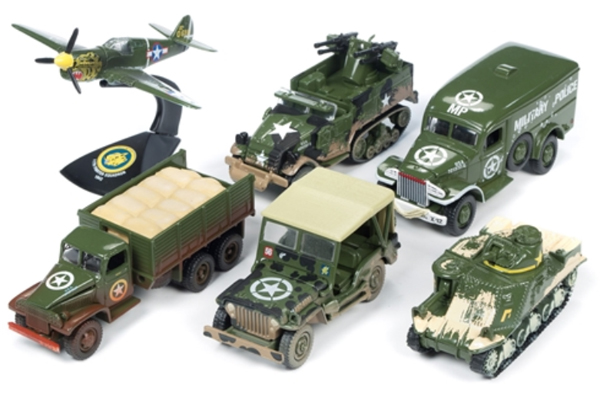 JLML001-B-SET - Johnny Lightning Military