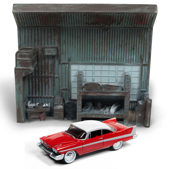 JLSP032 - Johnny Lightning Christine 1958 Plymouth Fury Diorama