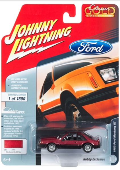 JLSP033 - Johnny Lightning 1982 Ford Mustang