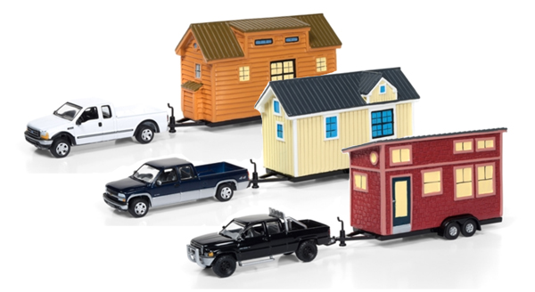 JLTH001-A-CASE - Johnny Lightning Tiny Houses Release 1A 6