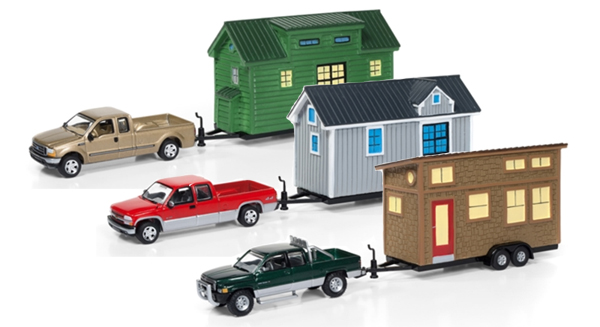 JLTH001-B-SET - Johnny Lightning Tiny Houses Release 1B 3