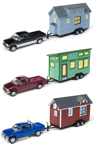 JLTH002-A-CASE - Johnny Lightning Tiny Houses Release 2A 6